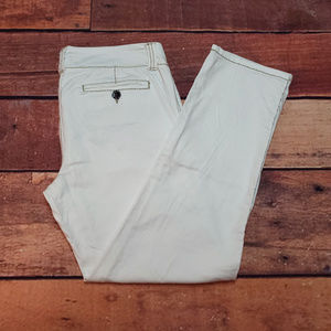 BKE Casuals Ankle Cropped Pants Size 29 Bryn White